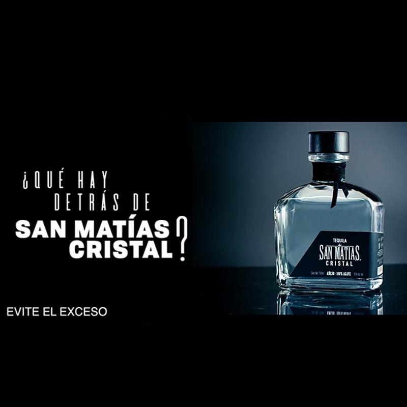 Tequila San Matias Cristal